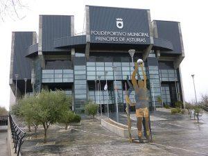 Polideportivo municipal Principie de Asturias de Pinto, Madrid